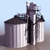 工厂设施3D模型