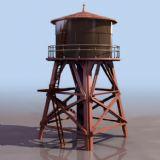 水塔3D模型