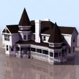 ��外�e墅3D模型