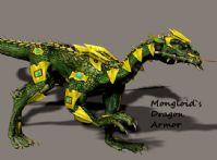 盔甲龙(dragon armor)3D模型