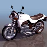 宝马摩托(BMWK100)3D模型