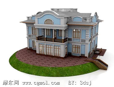 国外房屋楼房(house)3d模型