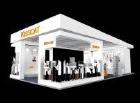 kisscat展厅设计3D模型