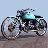 FRECCIA摩托3D模型