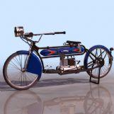 HEND1912年摩托3D模型
