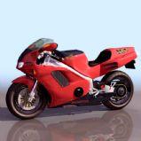 本田HOND摩托车3D模型
