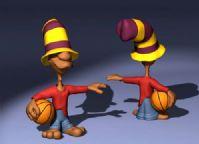 卡通角色3D模型