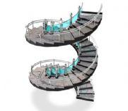 弧形楼梯3D模型