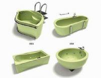 四款浴缸3D模型