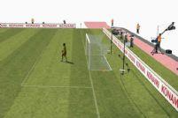 实况足球游戏人物3D模型