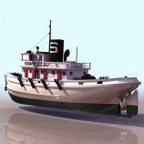 3D轮船船只3D模型