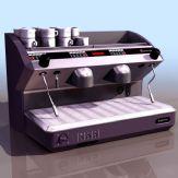 咖啡杯制造仪器3D模型(低模)