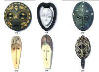 37款民族面具挂饰3D模型