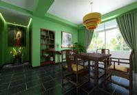 清新古典餐厅3D模型