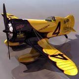 黄蜂飞机3D模型