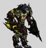 狼人网游游戏角色3D模型