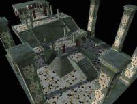 失落的废墟游戏场景3D模型