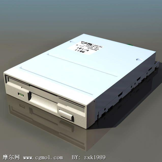 电脑光驱3D模型(低模)