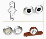 四款时钟,闹钟,钟表3D模型