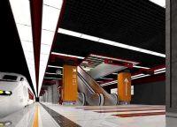 地铁站3D模型