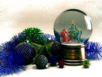 圣诞球,星星,水晶球等挂件3D模型