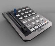 电子音量控制器3D模型