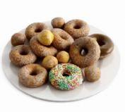 甜甜圈营养早餐3D模型