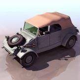吉普车3D模型