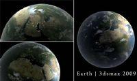 高精度地球3D模型