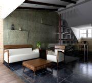 中式阁楼装饰3D模型