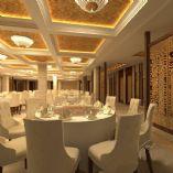 中式欧陆风情餐厅3D模型