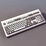 键盘3D模型