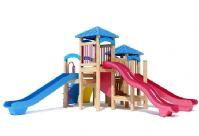 儿童游乐设备,公园儿童玩具,滑梯3D模型