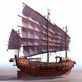 3D船模型