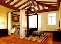 豪华卧室3D模型