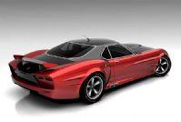 超高精度苏格兰跑车3D模型