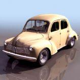 小面包车3D模型