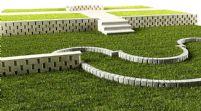 高精细游戏场景 公园草坪 阶梯3D模型