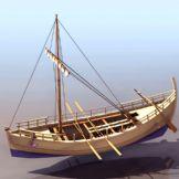 木船3D模型
