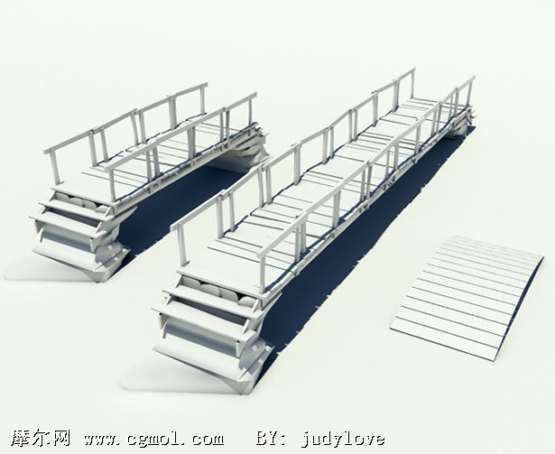 桥梁3d模型,基础设施,建筑模型
