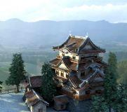 塔建筑3D模型