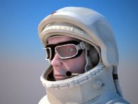 宇航员,太空人3D模型