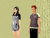 3d时尚男女模型