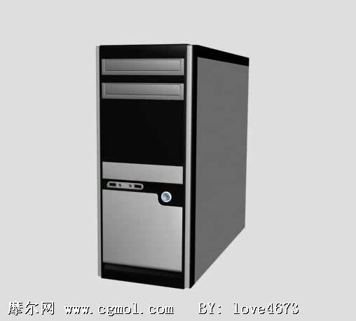 电脑机箱3d模型