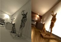 现代装饰3D模型