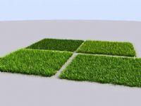 高精度草地,草坪场景3D模型