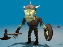 哥布林精灵战士3D模型