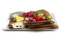 营养早餐 面包 糕点3D模型