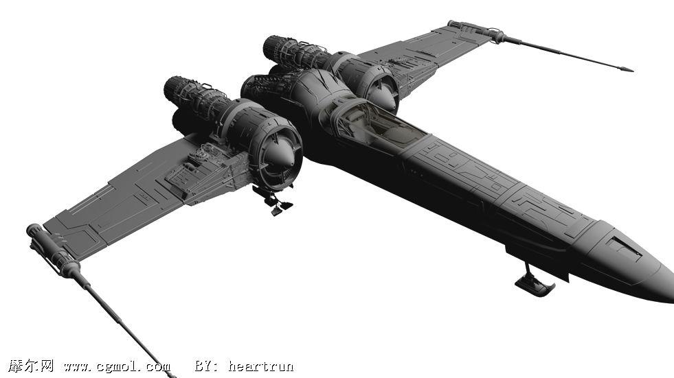 未来太空战舰,太空战机3d模型
