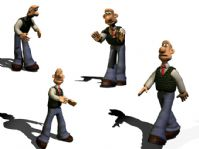 3D卡通角色模型